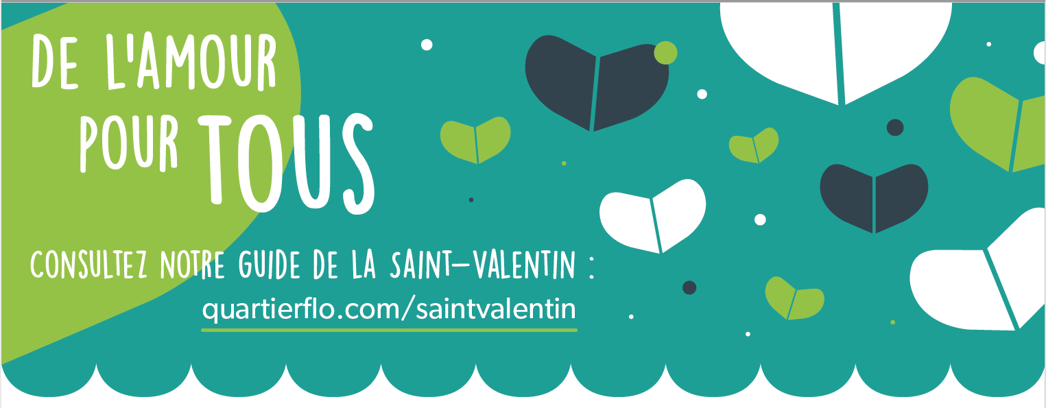 Guide de la Saint-Valentin Ahuntsic