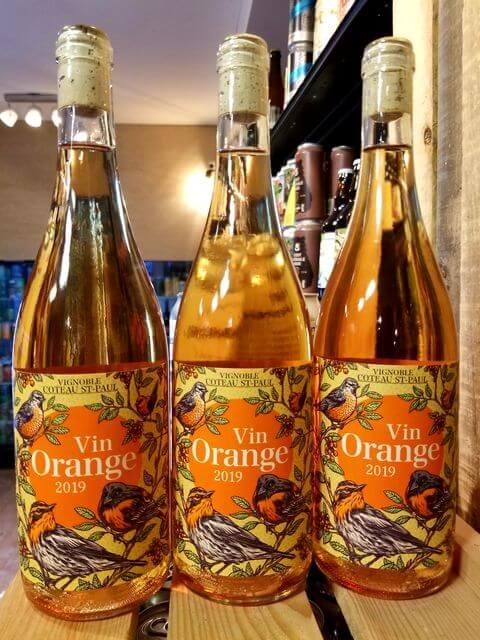 Vin Orange Coteau Saint-Paul