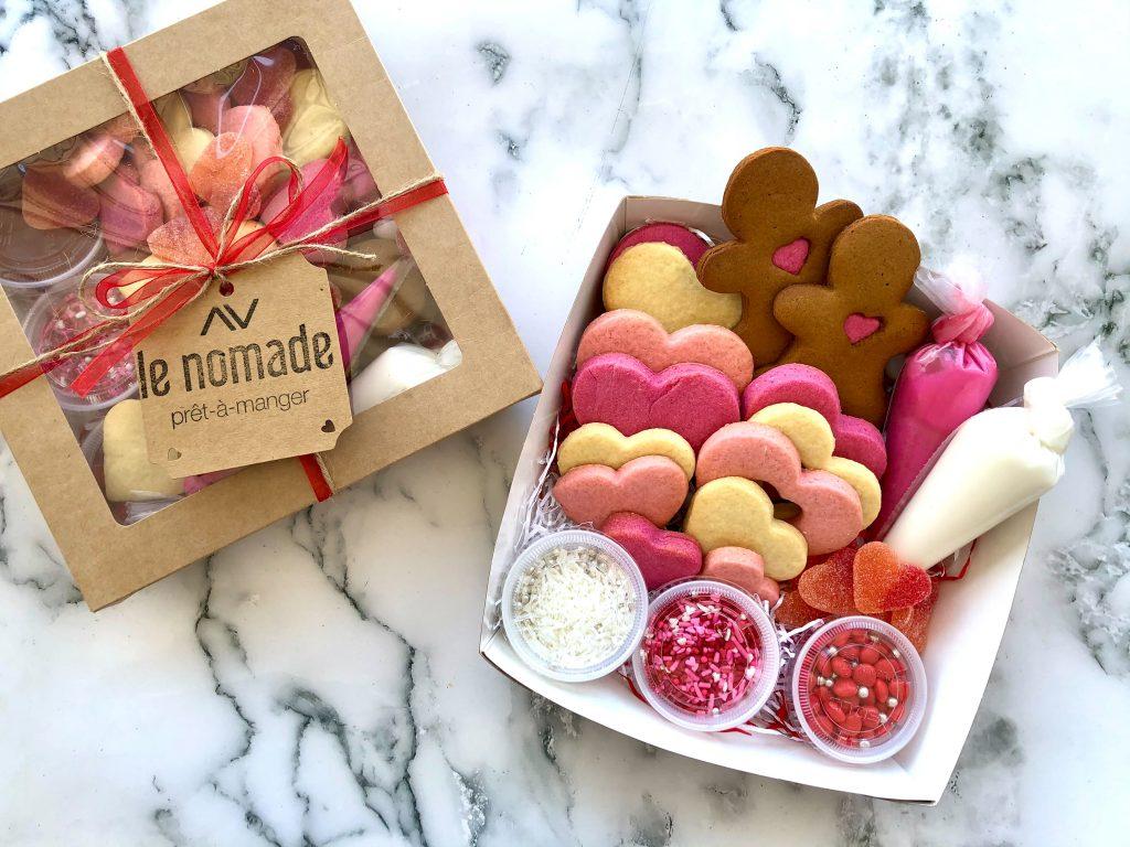 Biscuits de la Saint-Valentin à décorer