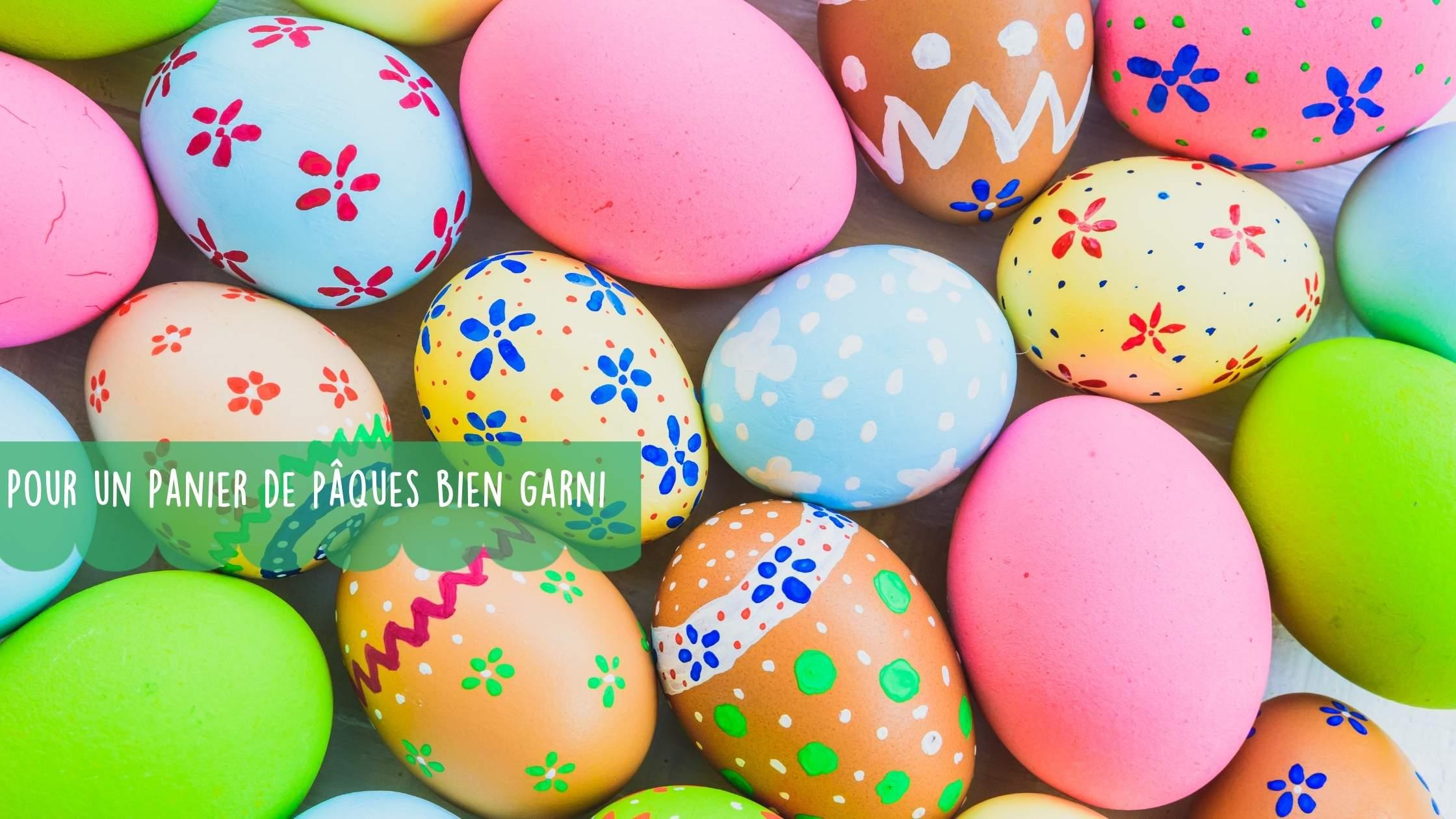 Découvertes pour remplir votre panier de Pâques