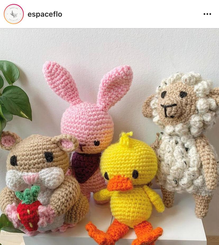 Peluches de Pâques