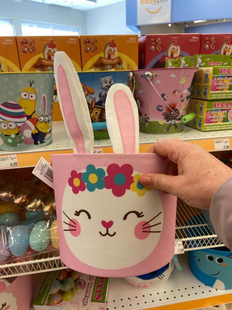 Panier pour chasse de Pâques