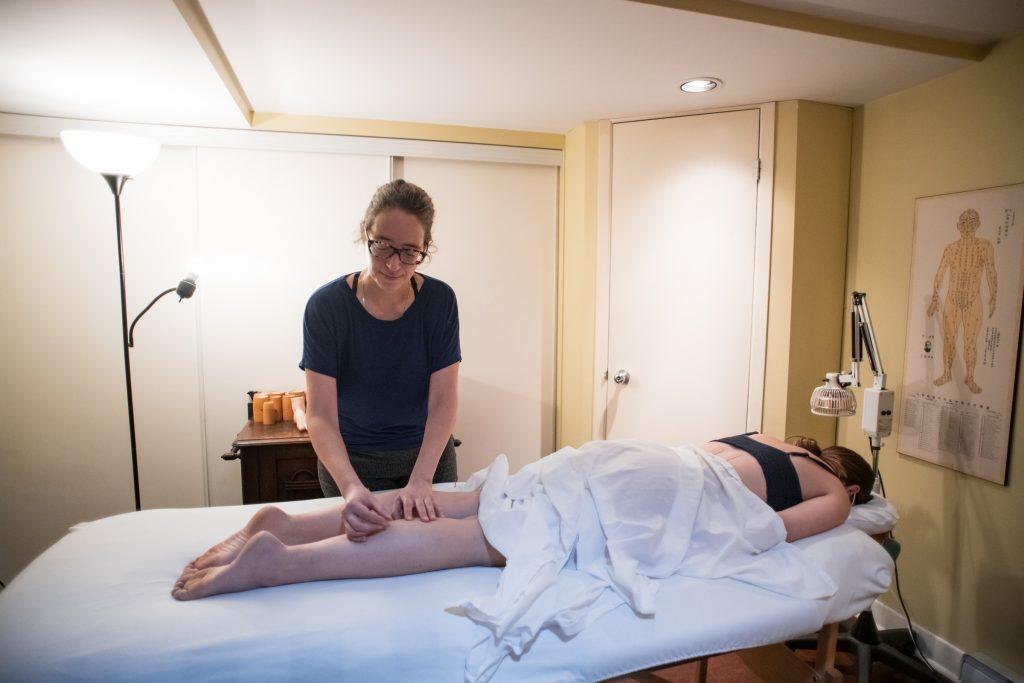 Violaine Fournier est acupunctrice au Centre chiropratique optimal sur Fleury Ouest dans Ahuntsic à Montréal.